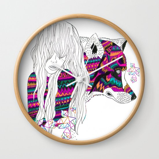 ▲SHE-WOLF▲ Wall Clock