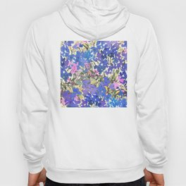 Blue Periwinkle Wildflowers Hoody
