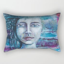 Freedoms Ladder of the Soul Rectangular Pillow