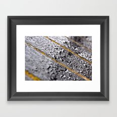 {rain} Framed Art Print