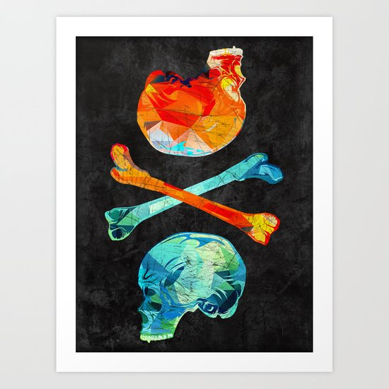 Fire & Ice Art Print