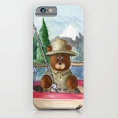 Fisherman Bear iPhone 6s Slim Case
