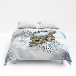 Shells Sea Design Art Comforters