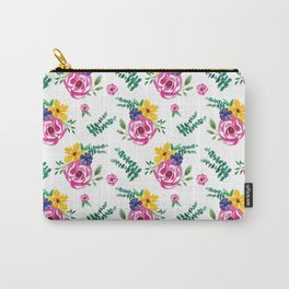 Floral Pattern #1 Carry-All Pouch