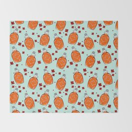 Super Canadian Maple Syrup Pattern Decke