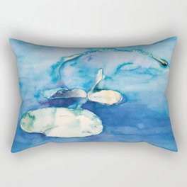 Lilly pond Rectangular Pillow