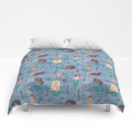Mischievous Mermaids Comforters