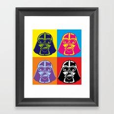 Darth Vader - Pop Art - Star Wars Framed Art Print