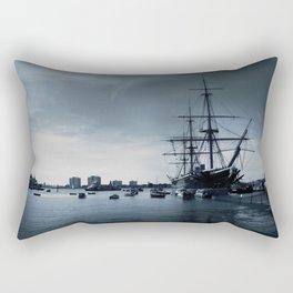 Ship The Warrior HMS 1860 Rectangular Pillow