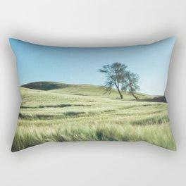 Lone Tree Photography Print Rectangular Pillow