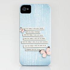 Reiki Principles No.1 iPhone (4, 4s) Slim Case