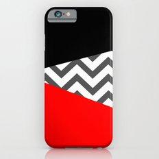 Color Blocked Chevron 10 Slim Case iPhone 6s
