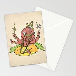 Ganesha Art Print Stationery Cards