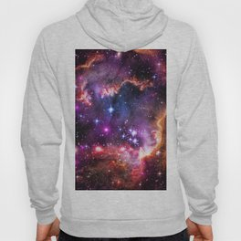 Small Magellanic Cloud's Starry Wingtip Hoody