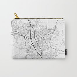 Minimal City Maps - Map Of Escondido, California, United States Carry-All Pouch