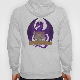 Clan Lochguard Purple Dragon Crest Hoody