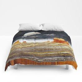 Metallic Desert Comforters