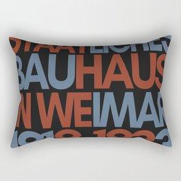 Bauhaus Poster Rectangular Pillow