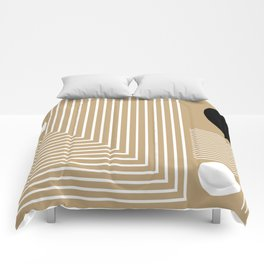 Lines & Circles Comforters