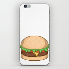 Cheeseburger Pixel iPhone & iPod Skin