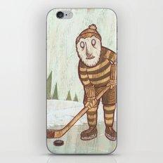 Hockey Yeti iPhone & iPod Skin