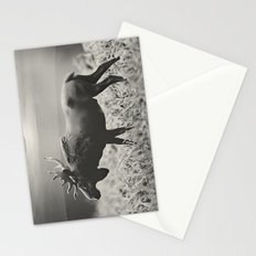 Moose Walk  Stationery Cards