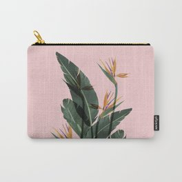 Bird of Paradise Flower Vintage Carry-All Pouch