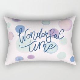 Wonderful Time #society6 #xmas Rectangular Pillow