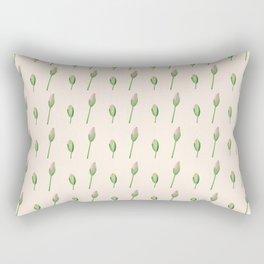 Flower buds Rectangular Pillow