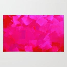 Cubism in pink Rug