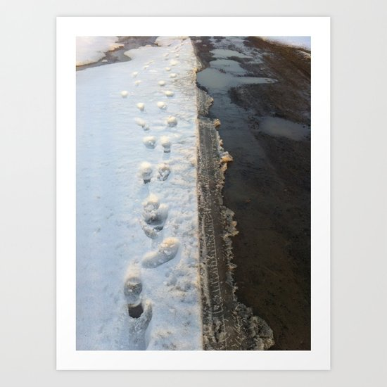 winter is gone? Art Print