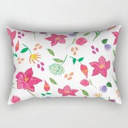 Tropical themed pattern Rectangular Pillow