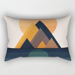 Twin Sun Rectangular Pillow
