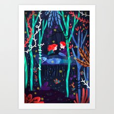 Darkest Part of the Forest Art Print