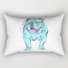 The Happy Bully Love of my Life! Rectangular Pillow