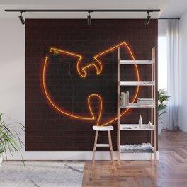 Wu Tang Neon Wall Mural