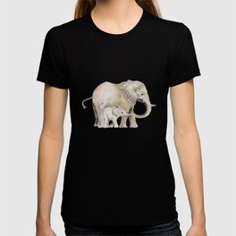 Mom and Baby Elephant 2 T-shirt