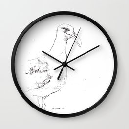 Sinister Seagull Wall Clock