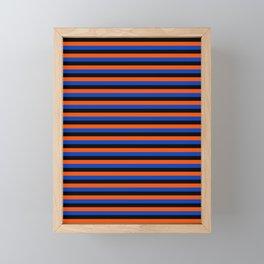 Color Stripe _001 Framed Mini Art Print