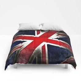 Punk Grunge Union Jack British Flag Comforters