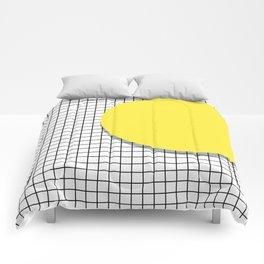 Memphis Yellow Comforters