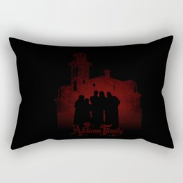 The Addams Family red version Rectangular Pillow