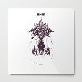 OHM/WHO Metal Print