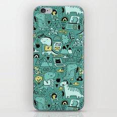 Communication Dinosaurs iPhone & iPod Skin