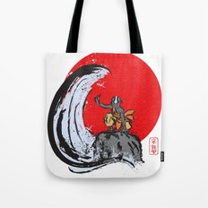 Aang in the Avatar State Tote Bag