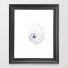 #543 The sum of all things – Geometry Daily Framed Art Print