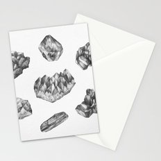 Gemstones drawing Stationery Cards