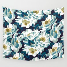 Mount Cook Lily (Night) Wall Tapestry