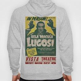 Dracula, Bela Lugosi, vintage poster Hoody