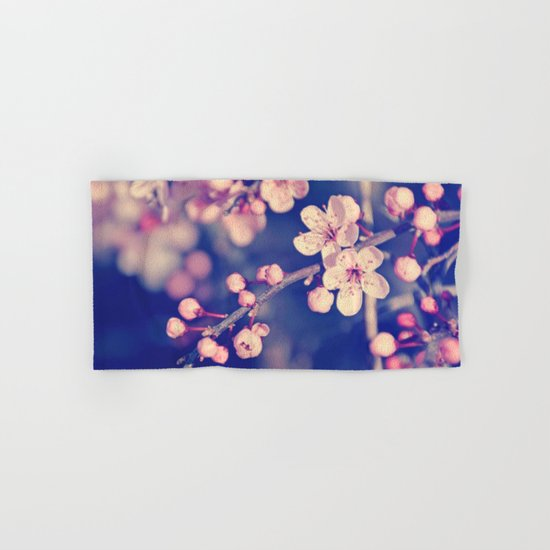 Gentle Rose Cherry Blossom Hand & Bath Towel